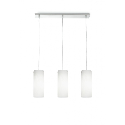 Fan europe lampadari sospensione cilindro street bianco 3xe27 shop online su grancasa - Grancasa lampadari ...
