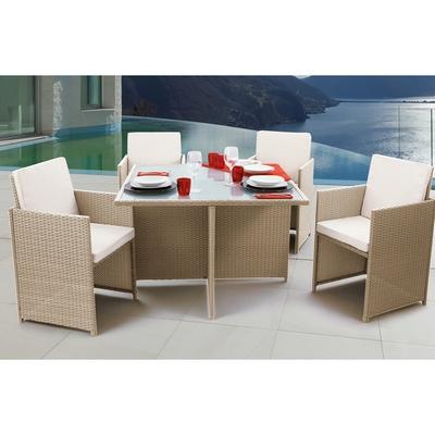 SET ARENA, tavolo + 4 sedie