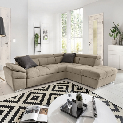 Collezione gransofa 39 pelle divano angolare angie shop online su grancasa - Divano letto grancasa ...