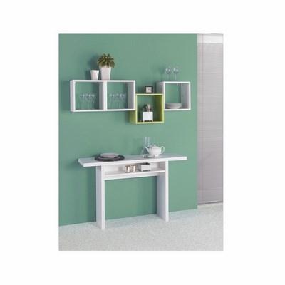 G tavoli casa collection el530 tav opla 39 120x35 70 bianco for Tavoli grancasa
