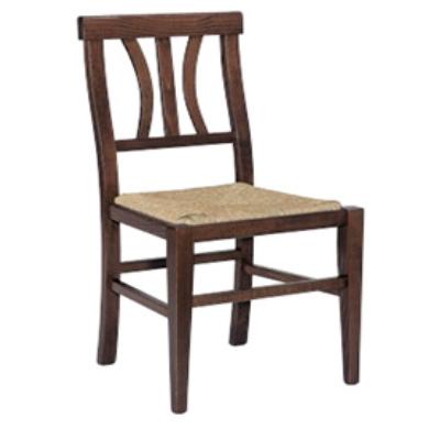 G Sedie Legno Delta Paglia Seduta imbottita Schienale rigido sedia ...