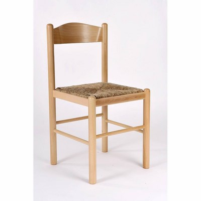 G Sedie Legno Sedia Pisa naturale con seduta in paglia - shop online ...
