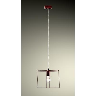 Novecento lampadari sospensione quadra corten shop online su grancasa - Grancasa lampadari ...