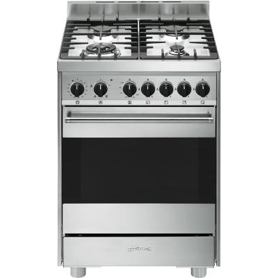 Smeg cucine b6gvxi9 libera installazione gas hob a acciaio - Cucine a gas libera installazione ...