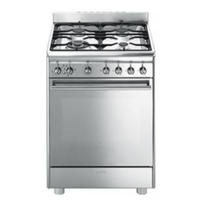 Smeg cucine cx68mf8 2 libera installazione gas hob a - Cucine a gas libera installazione ...