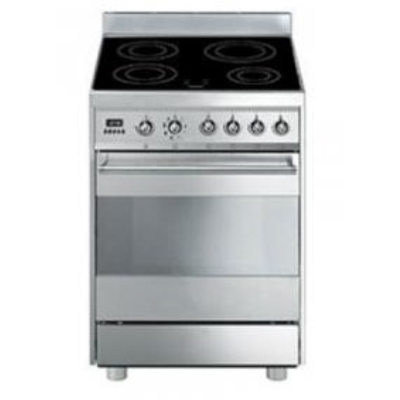 Smeg Cucine C6IMXI8-2 Libera installazione A-20% Acciaio ...