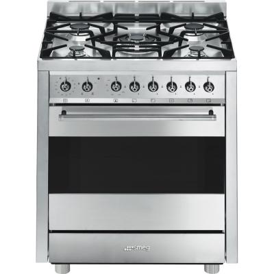 Smeg cucine b7gvxi9 libera installazione gas hob a acciaio - Cucine a gas libera installazione ...