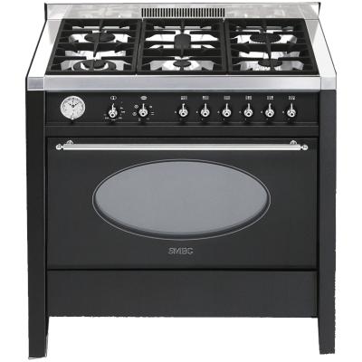 Smeg cucine cs18a 7 libera installazione gas hob a nero - Cucine a gas libera installazione ...