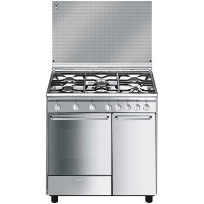 Smeg cucine cx9sv2 libera installazione gas hob a acciaio - Cucine a gas libera installazione ...