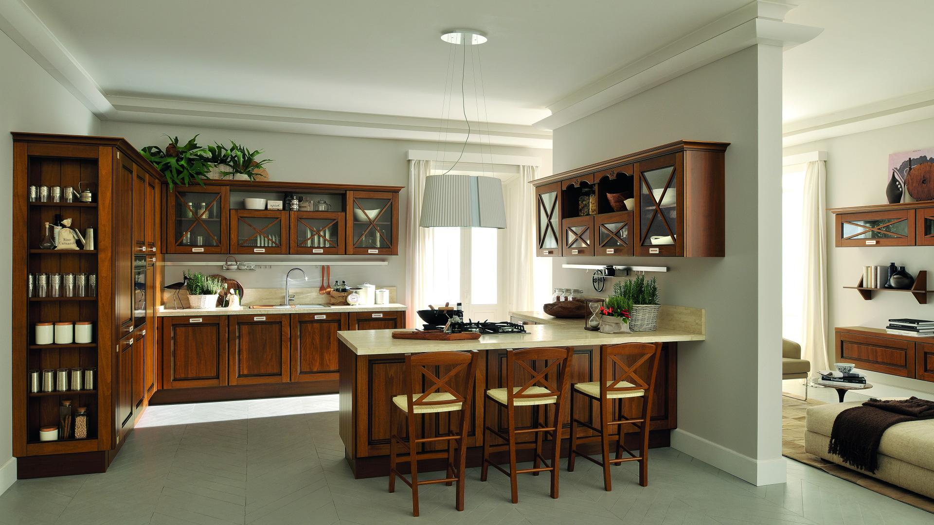 Lube cucine classiche agnese shop online su grancasa - Grancasa cucine ...