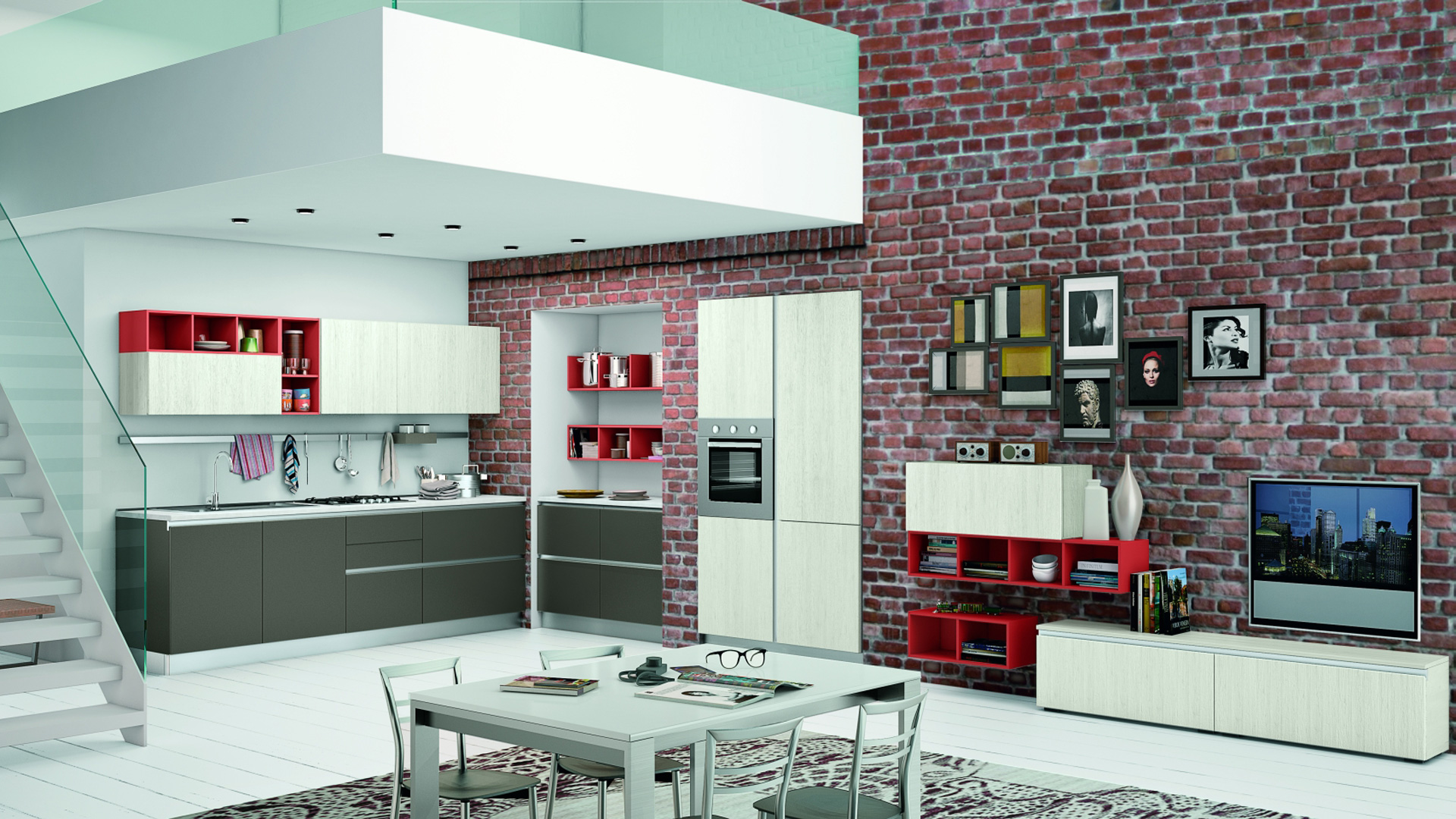 Creo cucine moderne ank shop online su grancasa for Cucine shop on line
