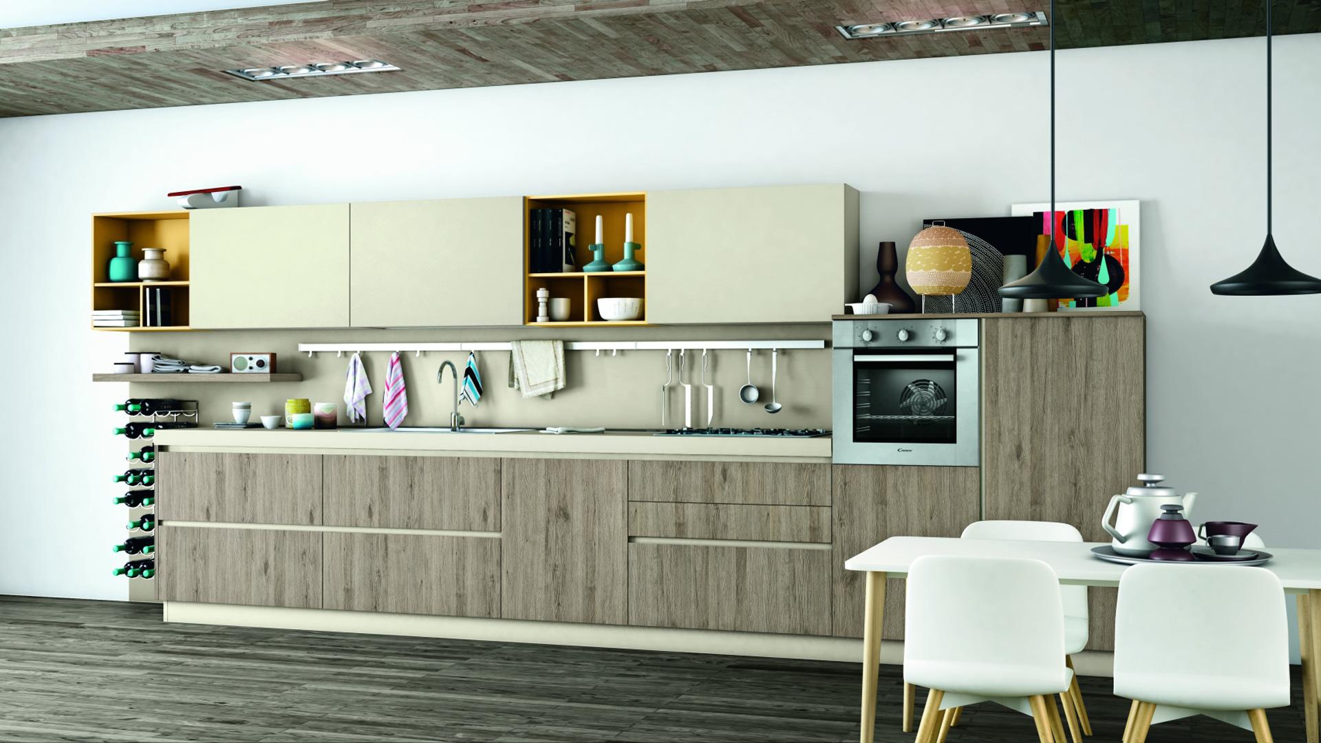 creo cucine moderne ank - shop online su grancasa - Cucina Grancasa