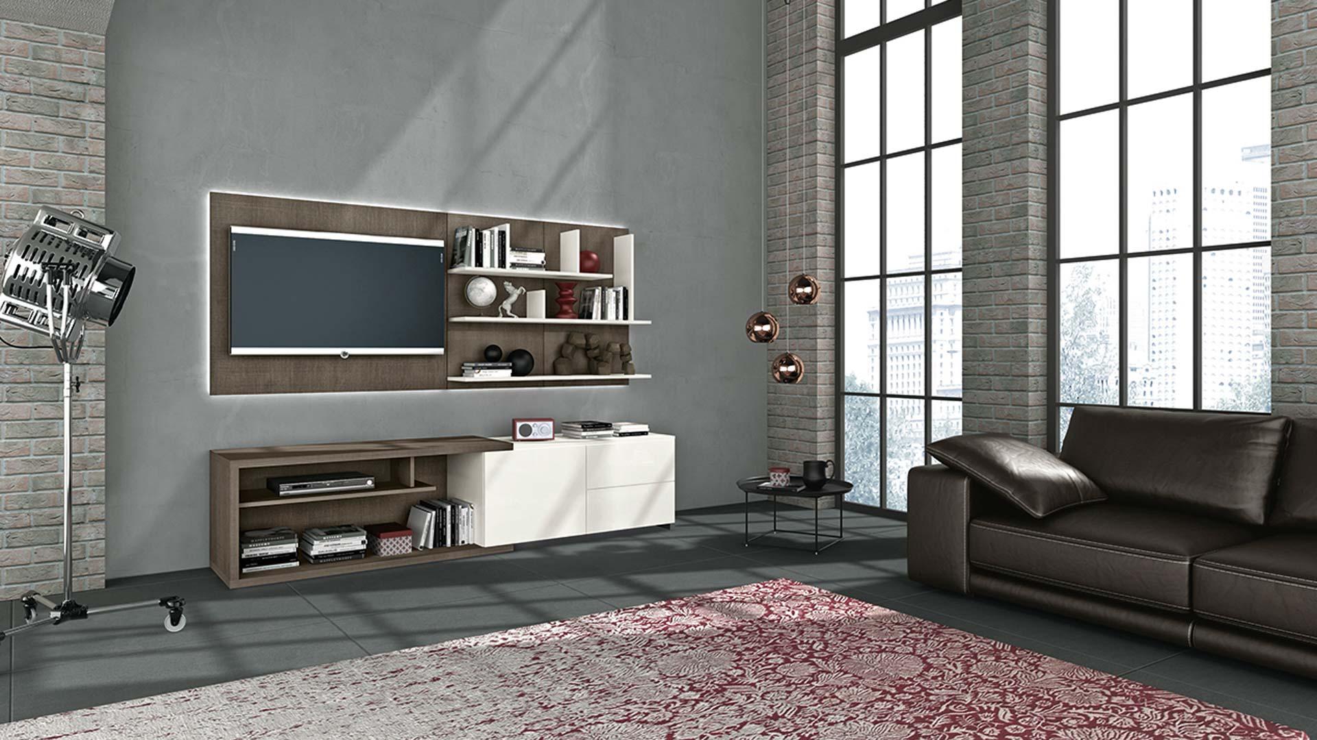 SONEGO Soggiorni Moderni SOGGIORNI APP LIVING - shop online su GranCasa