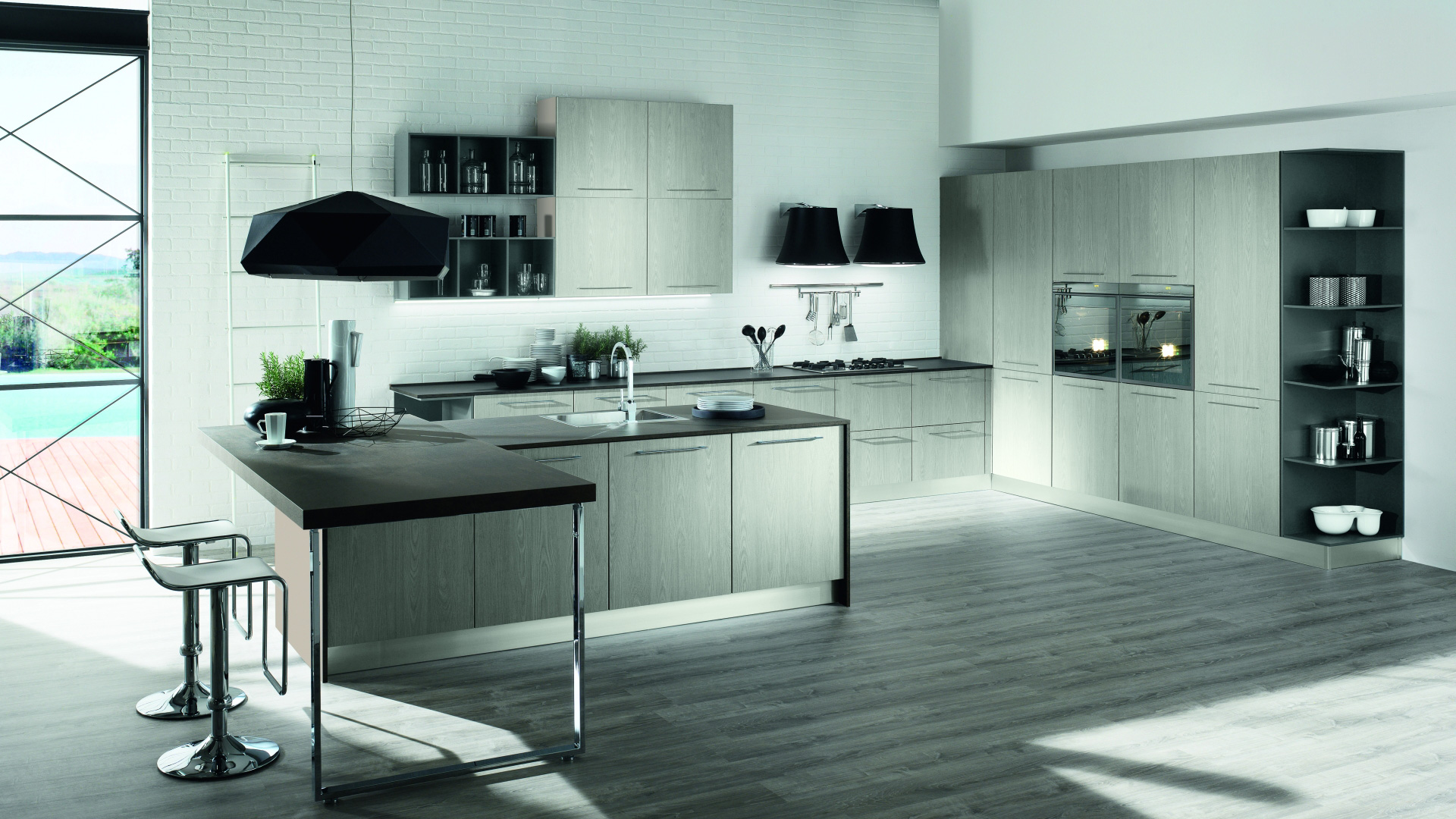 Mobilturi cucine moderne brio shop online su grancasa for Cucine shop on line