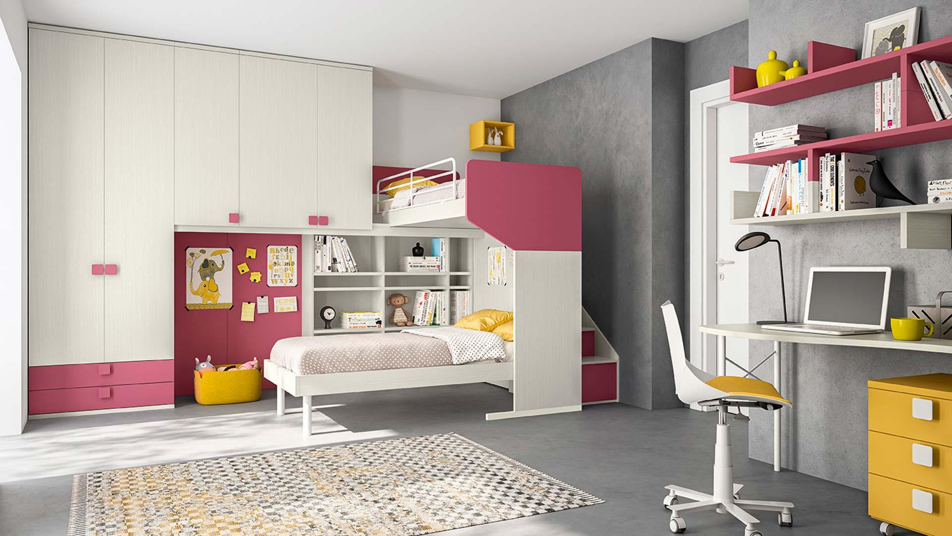Sonego camerette moderne castelli e soppalchi diesel for Camerette outlet online