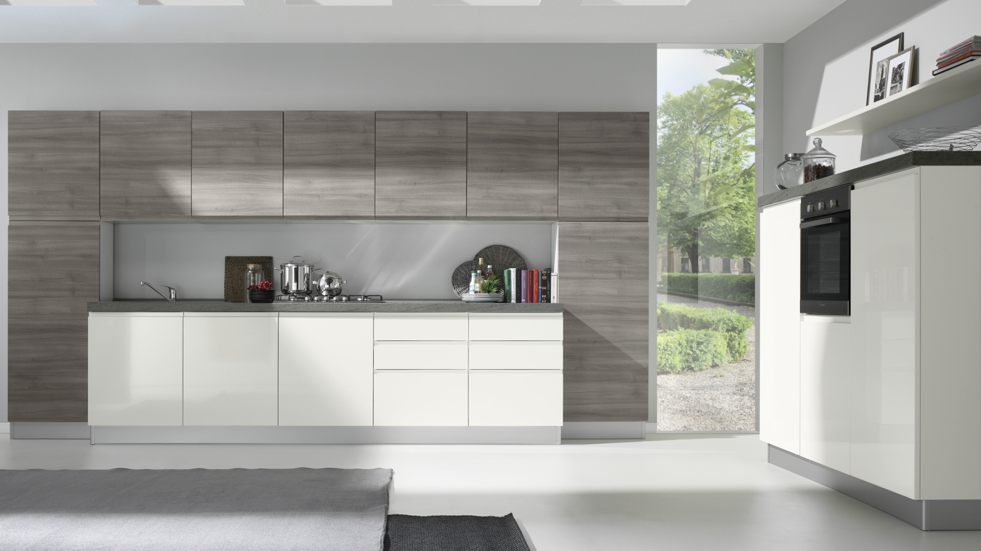 Netcucine cucine moderne kelly shop online su grancasa for Cucine shop on line