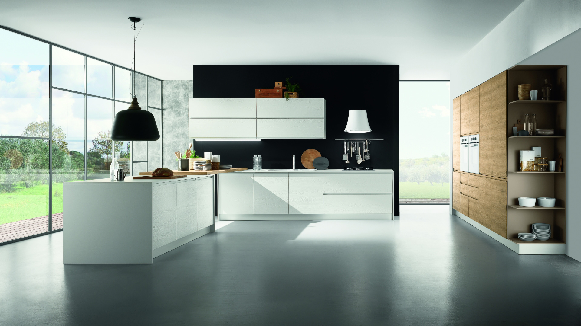 Mobilturi cucine moderne luna shop online su grancasa for Costo cucina