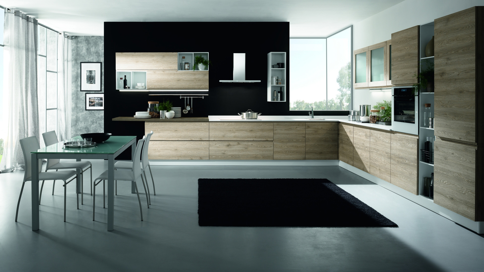 Mobilturi cucine moderne luna shop online su grancasa for Cucine shop on line