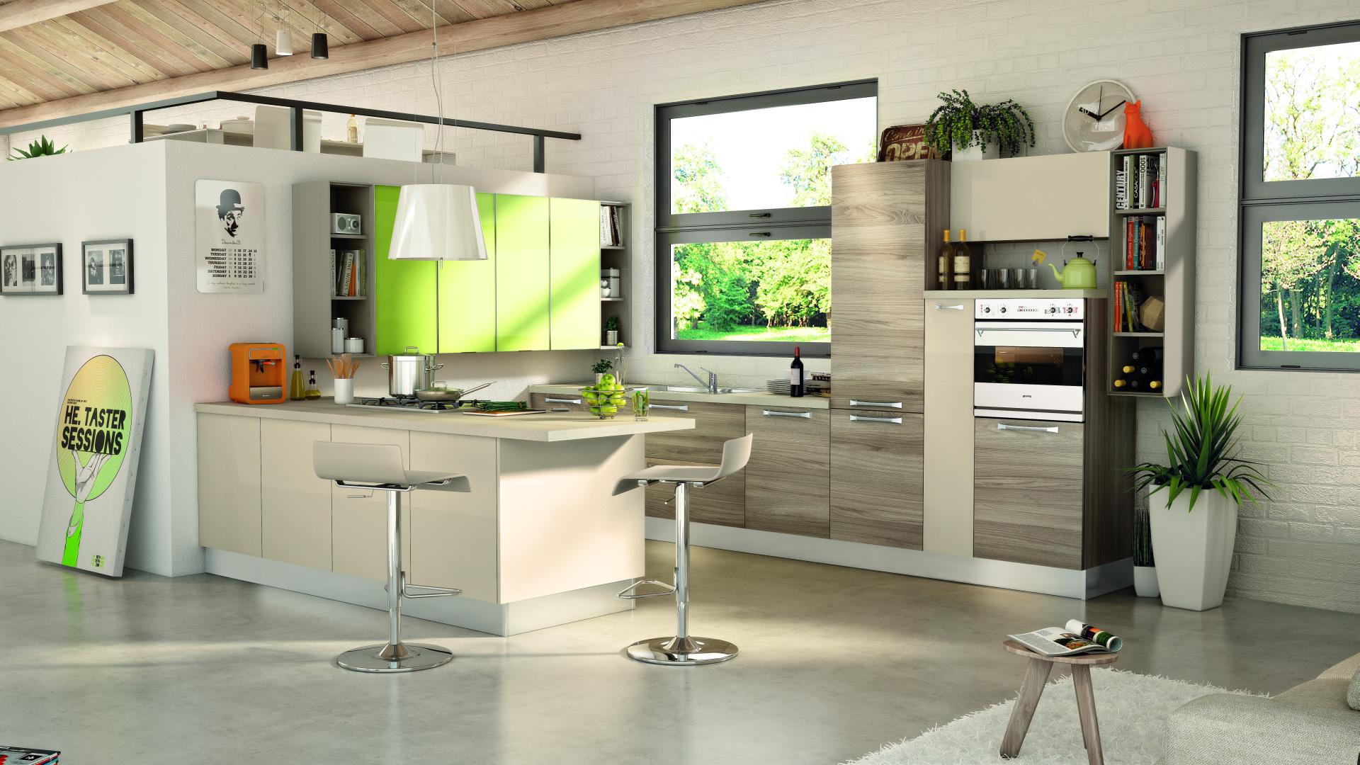 Lube cucine moderne noemi shop online su grancasa - Gran casa cucine ...