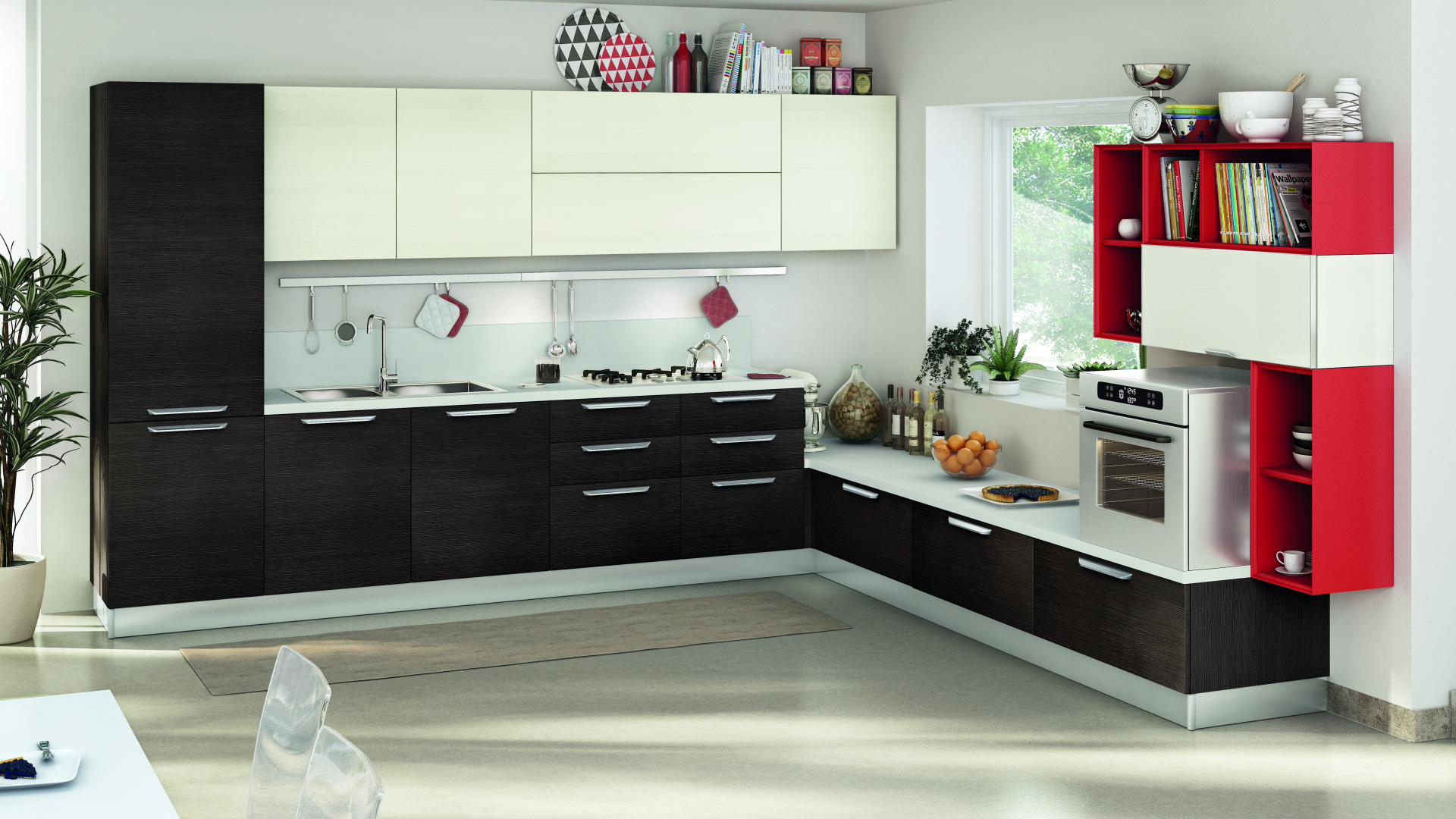 Lube cucine moderne noemi shop online su grancasa for Cucine shop on line