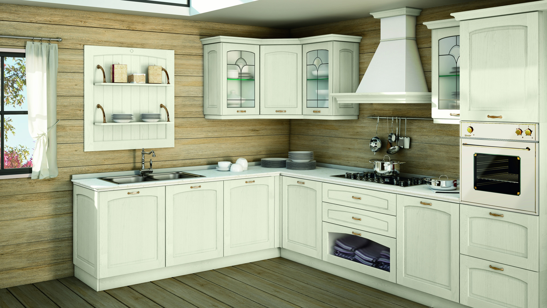 Creo cucine classiche malin shop online su grancasa for Cucine shop on line