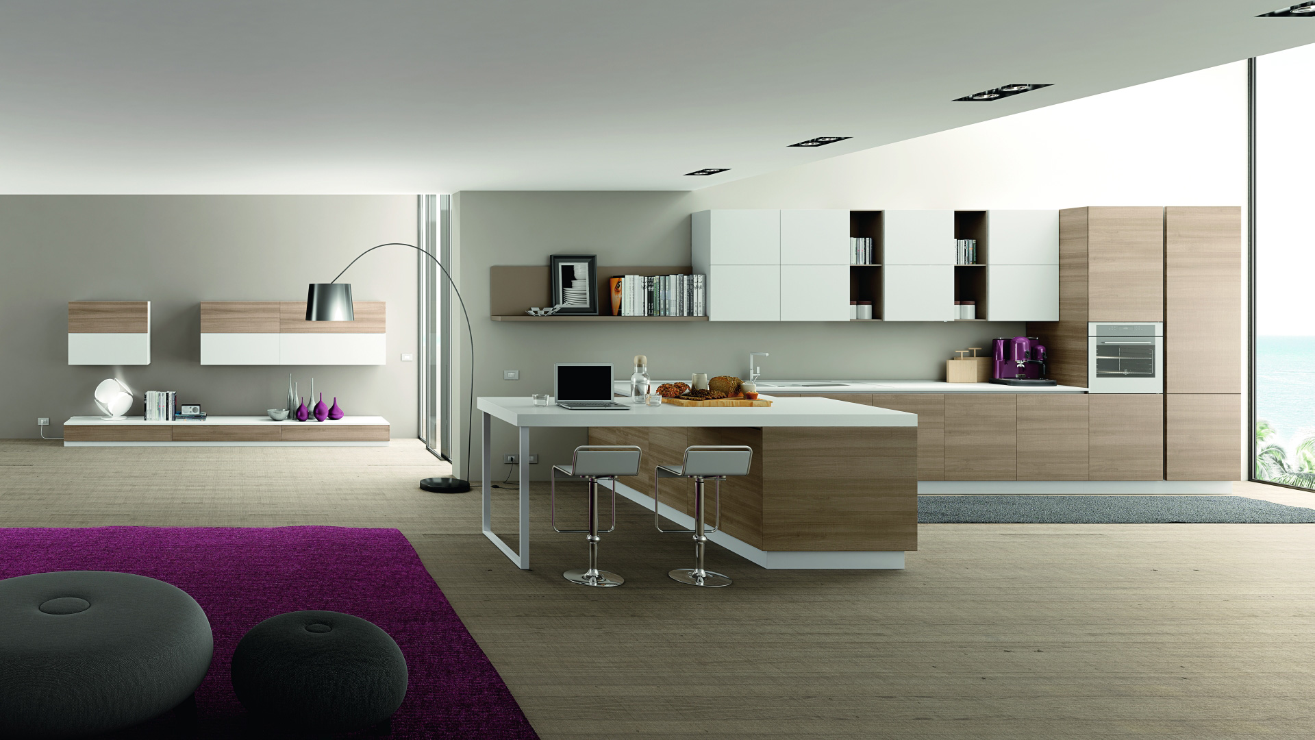 Mobilturi cucine moderne oceano shop online su grancasa for Cucine on line outlet