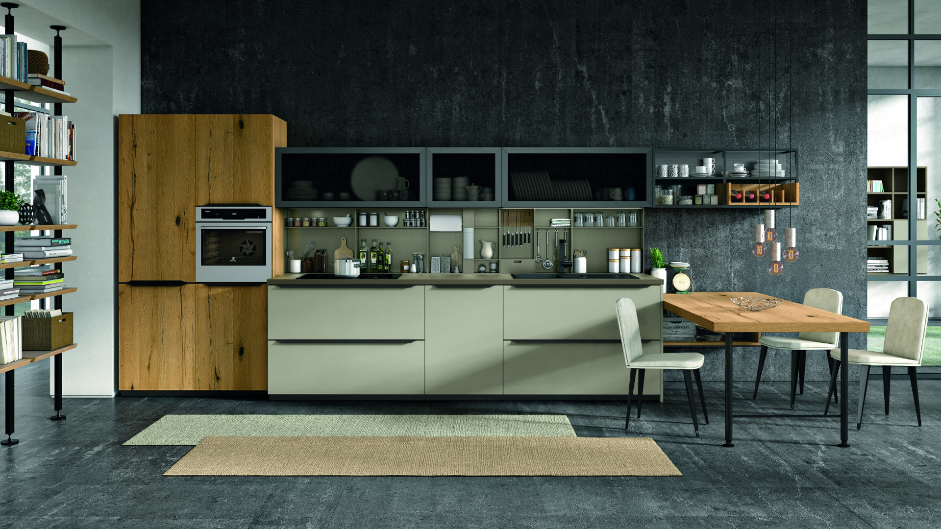 Lube cucine moderne oltre shop online su grancasa for Cucine shop on line