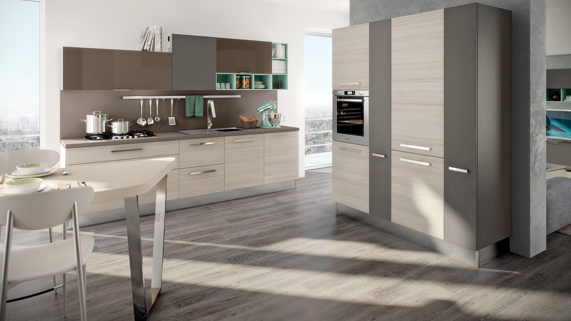 Lube cucine moderne swing shop online su grancasa for Cucine shop on line