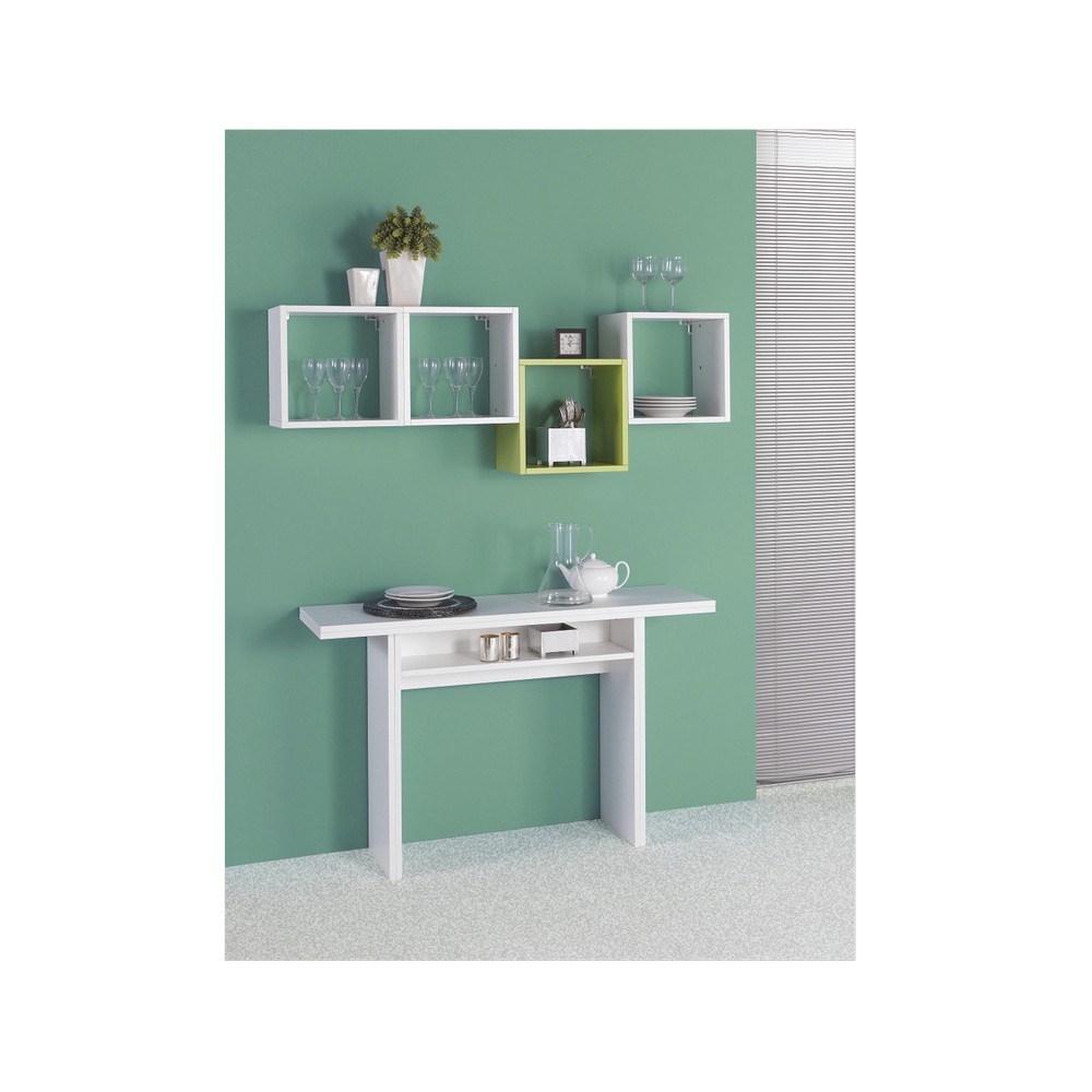Terraneo Tavolo Consolle.Casa Collection El530 Tav Opla 120x35 70 Bianco