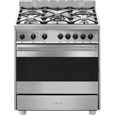 B8GMXI9 Libera installazione Gas hob B Acciaio inossidabile cucina