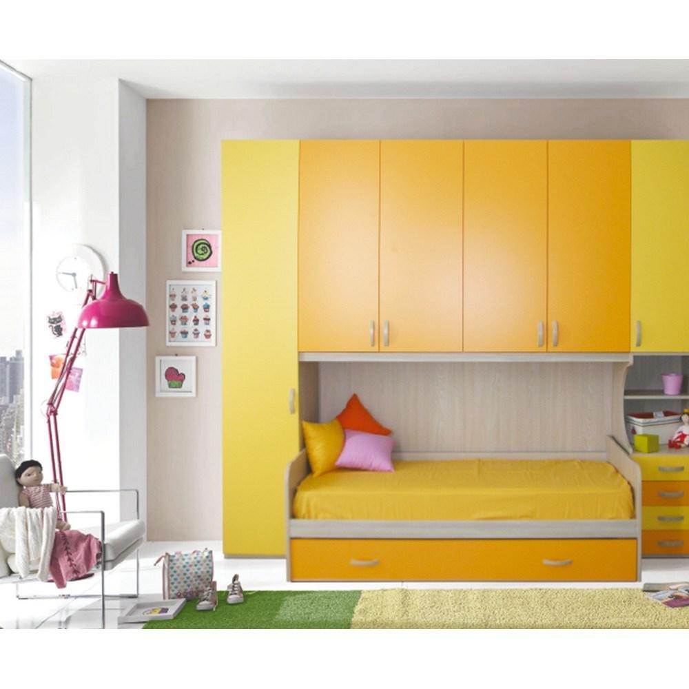 Regalo Cameretta A Ponte.Collezione Top Camerette Moderne Ponte Young Shop Online