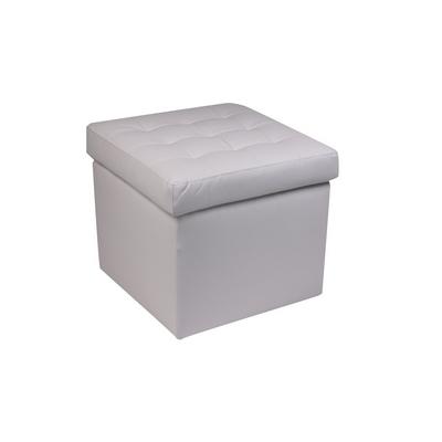 g pouf pouf quadro con coperchio luna shop online su grancasa. Black Bedroom Furniture Sets. Home Design Ideas