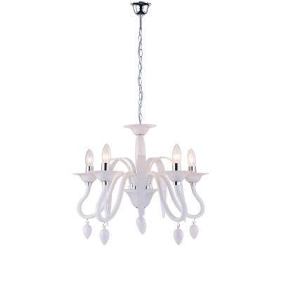 fan europe lampadari lampada estefan bianco 5xe14 max 40w - shop