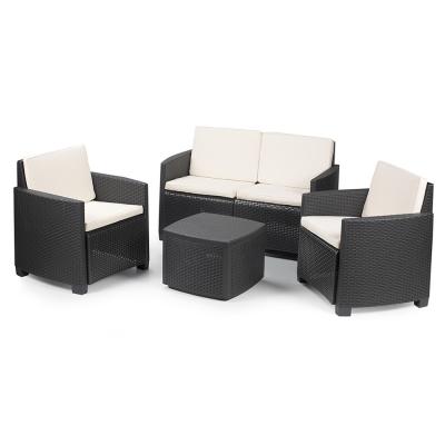 01441 Antracite set mobili da esterno