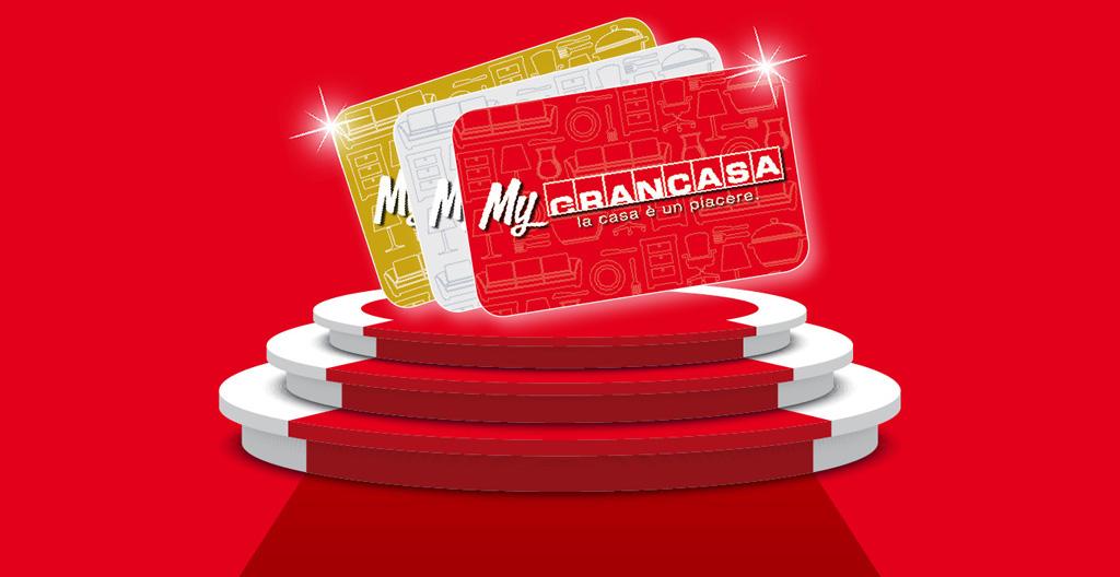 Sottoscrivi la fidelity card mygrancasa grancasa