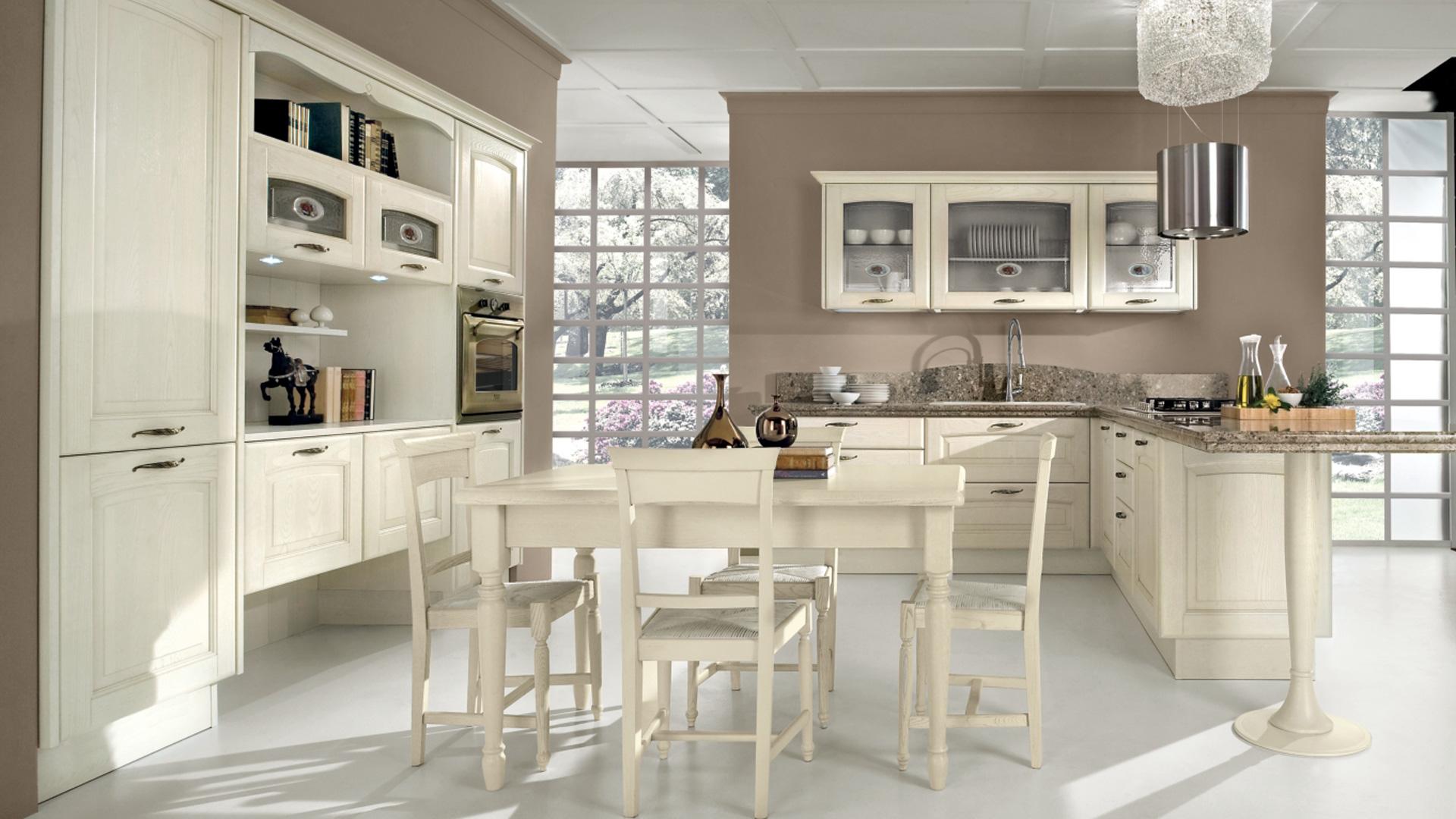 Lube cucine classiche veronica shop online su grancasa for Cucine classiche